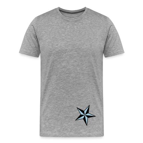 SKate don't hate on the back.  - Men's Premium T-Shirt