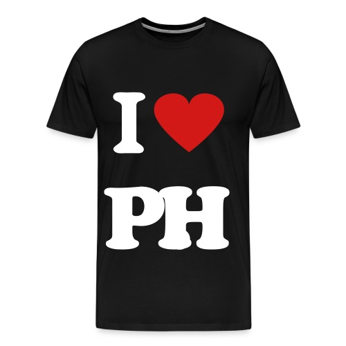 I LOVE PARK HILL - Men's Premium T-Shirt