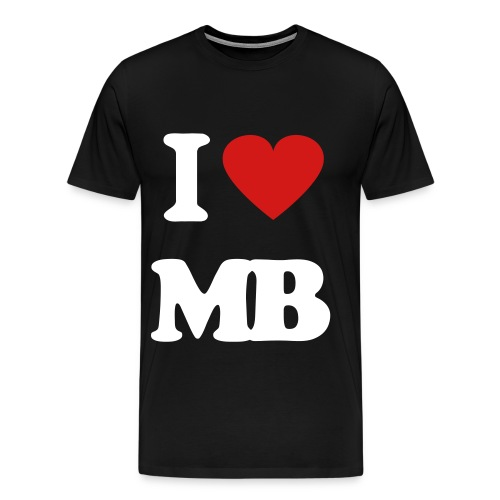 I LOVE MONTBELLO - Men's Premium T-Shirt