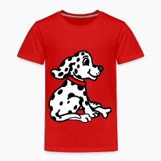 Red dalmatian Toddler Shirts