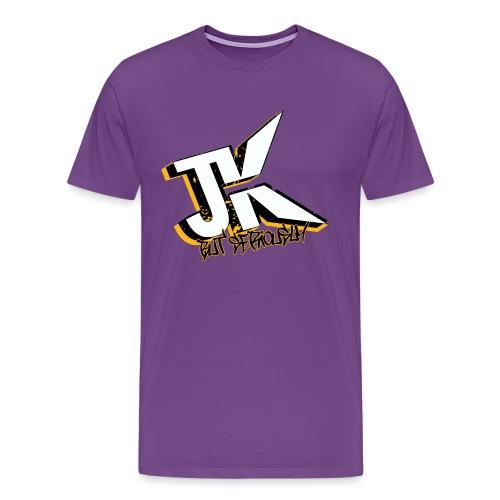 Just Kidding Viking - Men's Premium T-Shirt