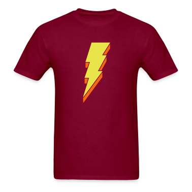 Lightning Bolt T Shirts - 3-D