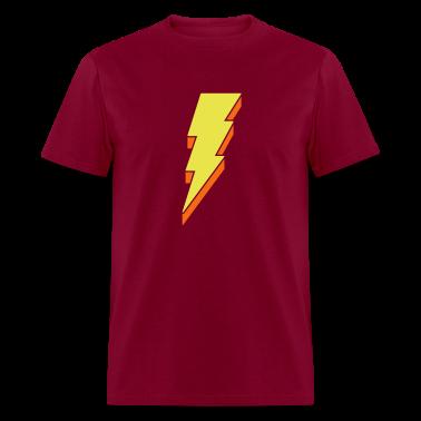 Lightning Bolt T Shirts - 3-D