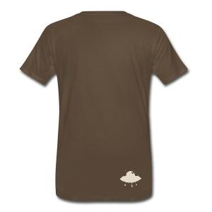 Ufo's and rocket ships - Men's Premium T-Shirt