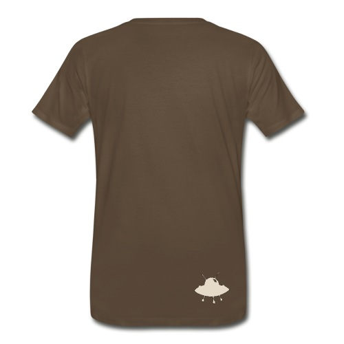 Ufo's and rocket ships - Men's Premium T-Shirt