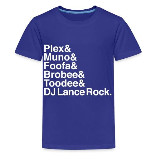 Yo Gabba Gabba - Kids' Premium T-Shirt