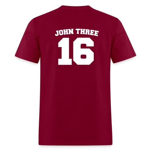 John 3:16 - Men's T-Shirt