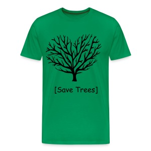 Trees are friends - Men's Premium T-Shirt