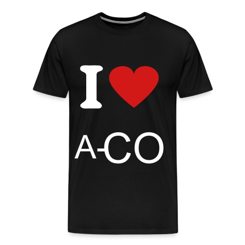 I LOVE A-CO - Men's Premium T-Shirt