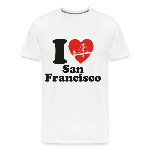 I Love San Francisco - Men's Premium T-Shirt