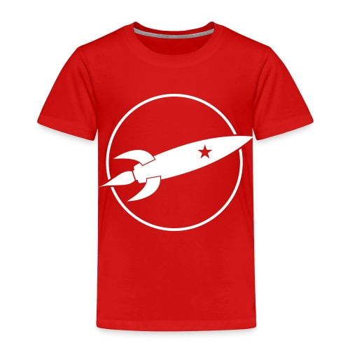 Retro Rocket Shirt - Toddler Premium T-Shirt