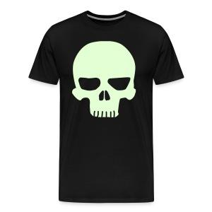 Skulliosis-Glow-in-the-dark  - Men's Premium T-Shirt