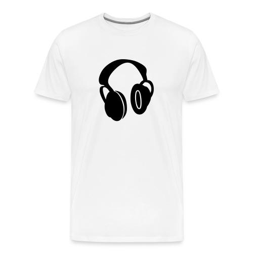 headphone's - Men's Premium T-Shirt