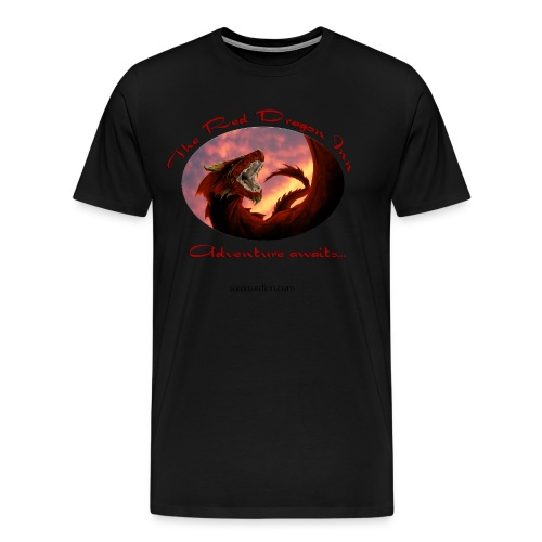 Heavyweight Black Raven Shirt - Men's Premium T-Shirt