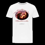 T-Shirts ~ Men's Premium T-Shirt ~ Heavyweight Raven Shirt