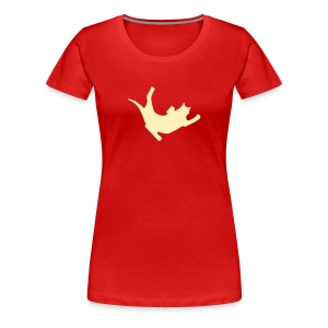 Fly Cat - Women's Premium T-Shirt