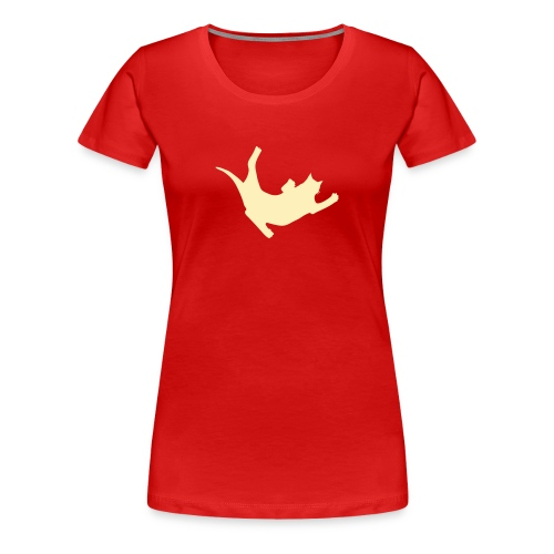 Fly Cat - Women's Premium T-Shirt