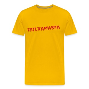 HULKAMANIA Wrestling Costume - Men's Premium T-Shirt