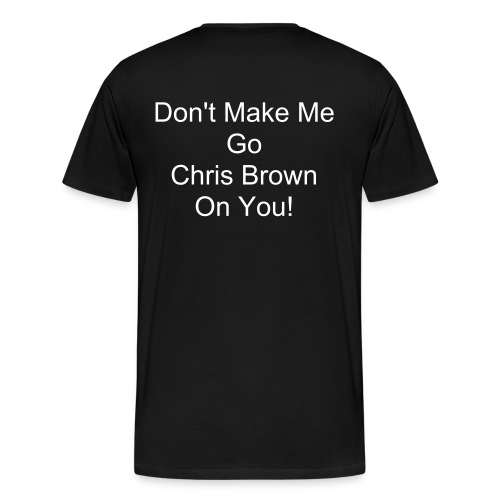 Chris Brown - Men's Premium T-Shirt