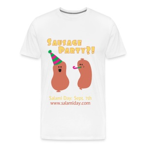 Salami Day: Sausage Party?! - Men's Premium T-Shirt
