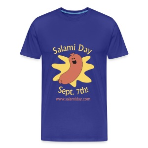 Salami Day: Happy Salami - Men's Premium T-Shirt