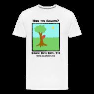 T-Shirts ~ Men's Premium T-Shirt ~ Salami Day: Hide the Salami?