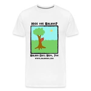 Salami Day: Hide the Salami? - Men's Premium T-Shirt