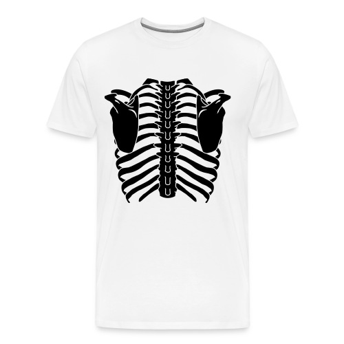 skeleton t - Men's Premium T-Shirt