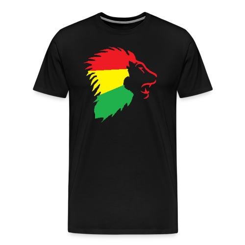 The Lion (more Colors Available) - Men's Premium T-Shirt