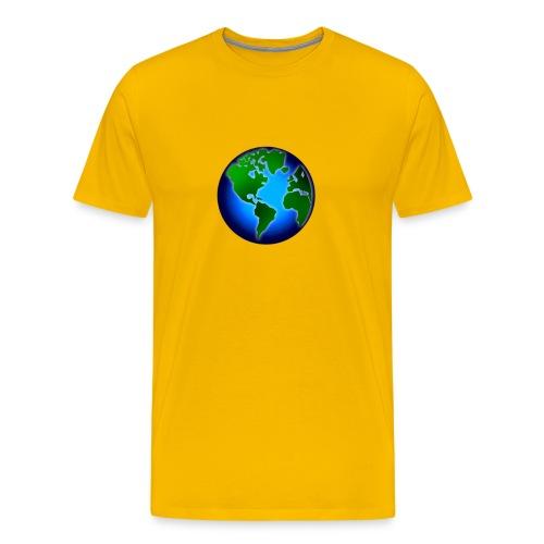 Men's Earth T-Shirt - Men's Premium T-Shirt