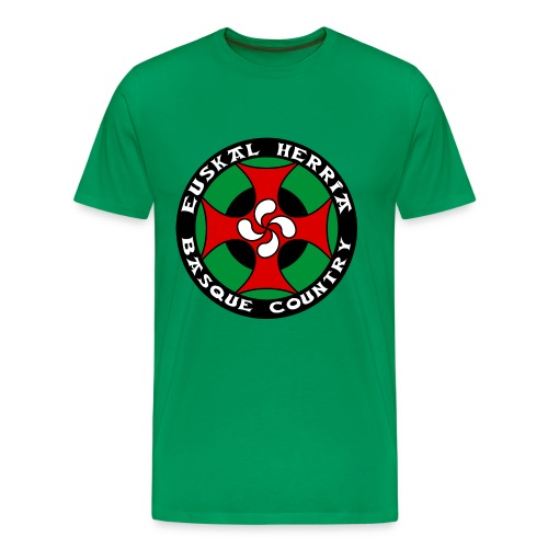 Basque cross - Men's Premium T-Shirt