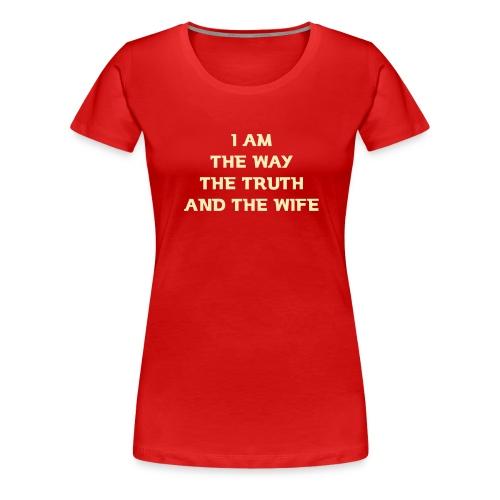 Wife - Women's Premium T-Shirt