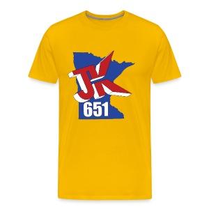 Just Kidding Minnesota - Men's Premium T-Shirt