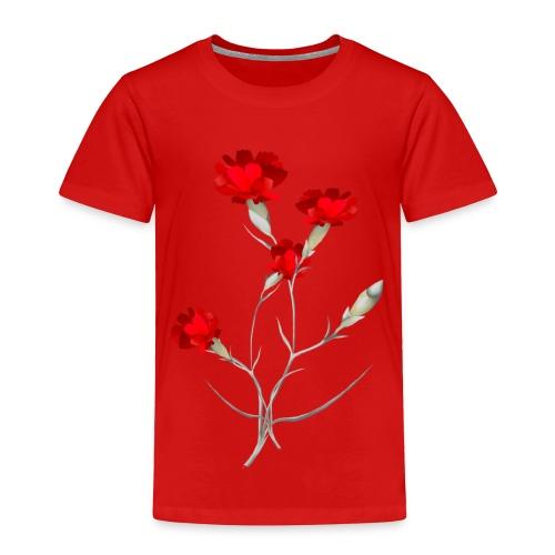 Carnations - Toddler Premium T-Shirt