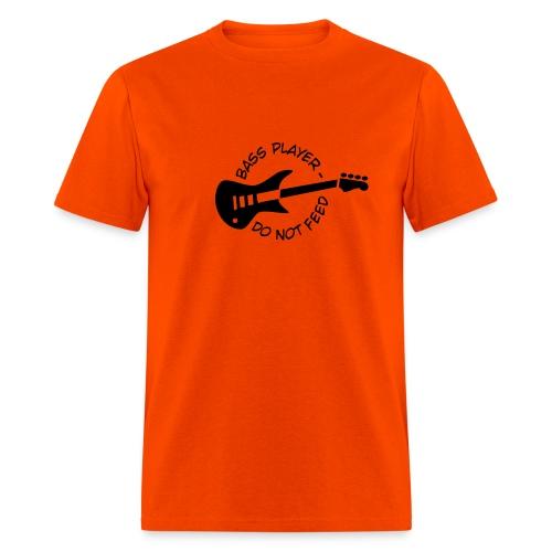 Bassplayer, do not feed! - Men's T-Shirt