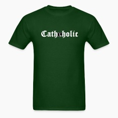 Forest green cathoholic2 T-Shirts