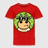 Red Cool Cow Toddler Shirts - Toddler Premium T-Shirt