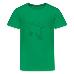 Big 3 [Dk Grn on Grn] - Kids' Premium T-Shirt