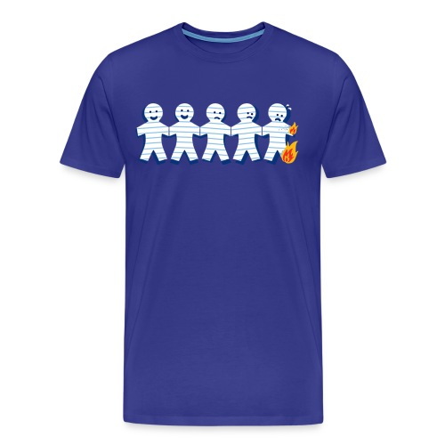 Paper Cuts Fire - Men's Premium T-Shirt