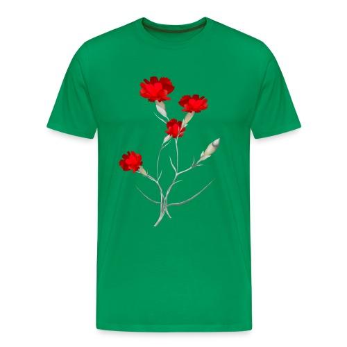 Carnations - Men's Premium T-Shirt