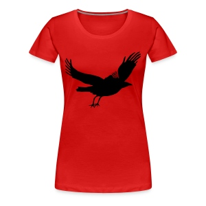 Crow - Women's Premium T-Shirt