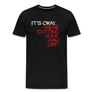 XXXL Mens Cutting... 2 sided. - Men's Premium T-Shirt