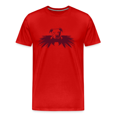 Red pitbull_angel T-Shirts