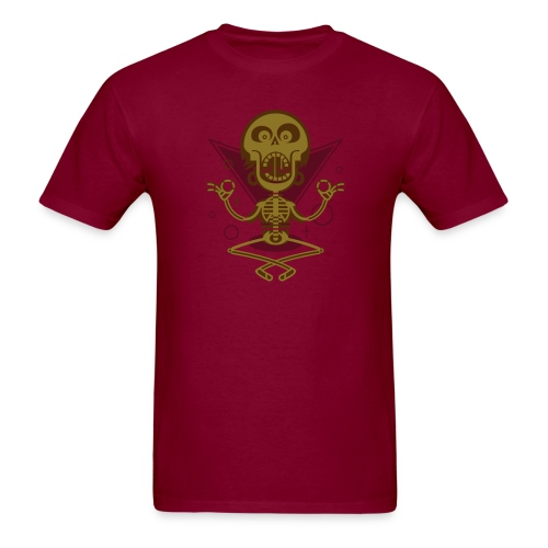 Burgundy Be glad. We're not dead, yet. T-Shirts - Men's T-Shirt