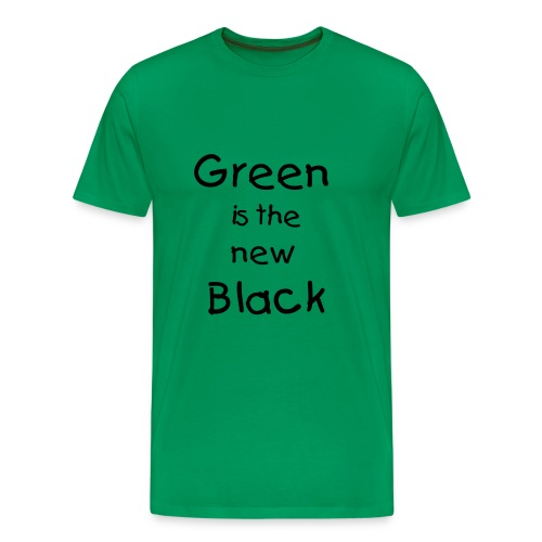 green is the new black - Men's Premium T-Shirt