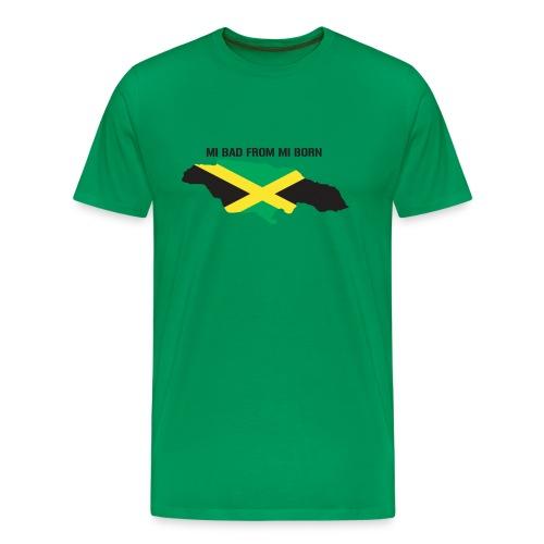 bad from mi born men's tee - Men's Premium T-Shirt