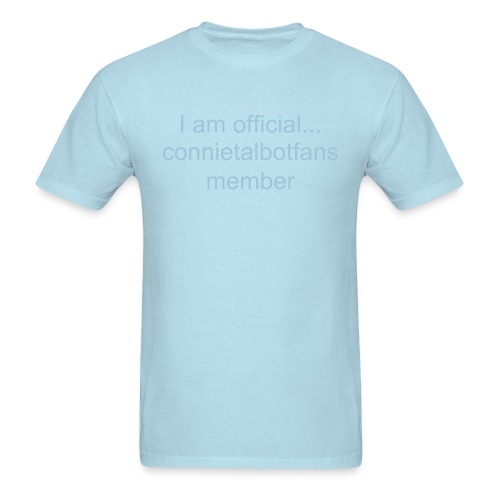 Connietalbotfans T-shirt - Men's T-Shirt