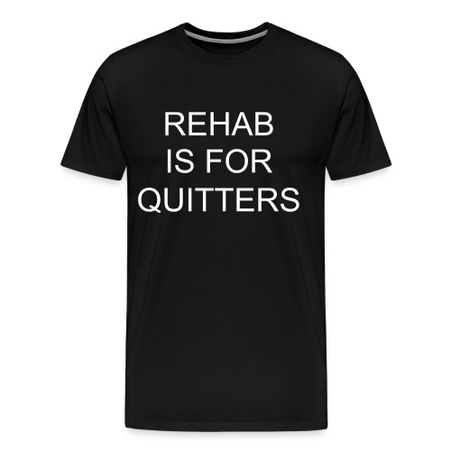 Rehab Mens T-shirt - Men's Premium T-Shirt