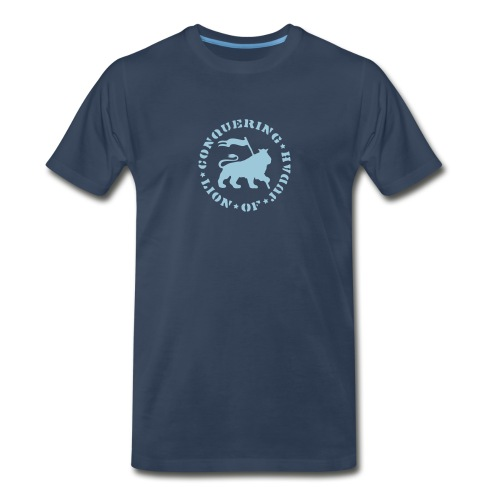 Conquering - Lion Of Judah - Men's Premium T-Shirt