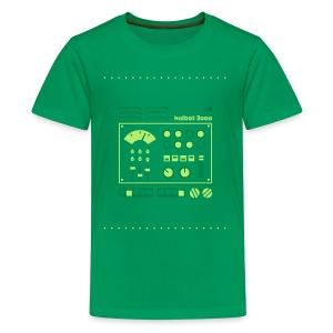 Kidbot 3000 [Grn on Grn] - Kids' Premium T-Shirt